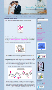 Una cita para dos, blog sobre bodas, DIY...