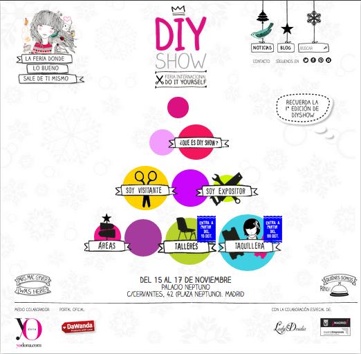 Vuelve la feria de las manualidades DIY Show Christmas