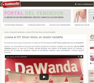 Dawanda, portal online para diseñadores y creativos (1/8/13)