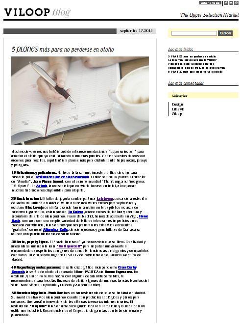 viloop, tienda de productos exclusivos (17-09-13)