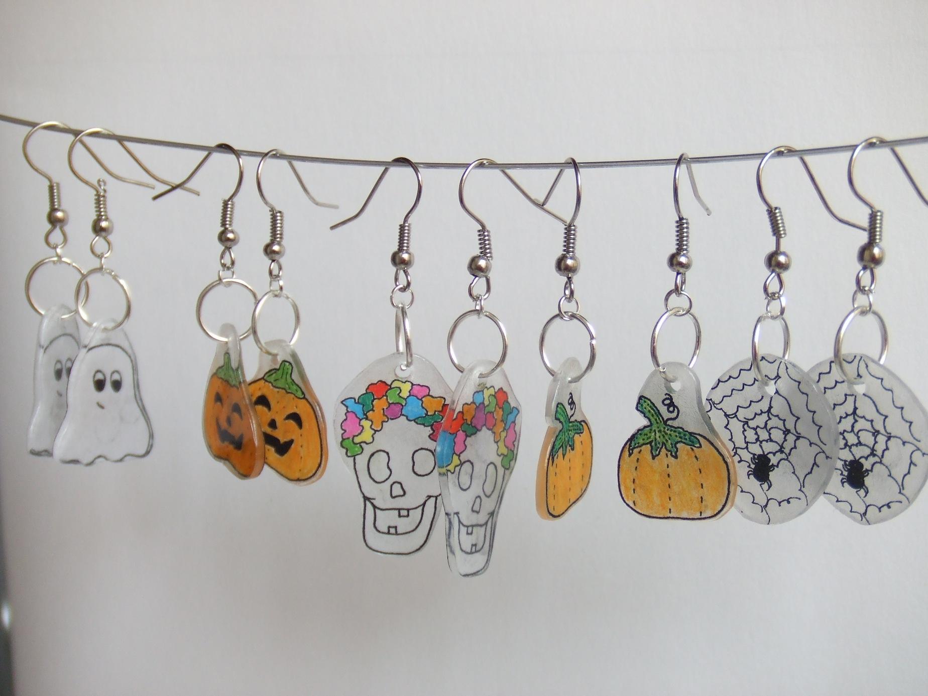 Pendientes halloween de Besosos