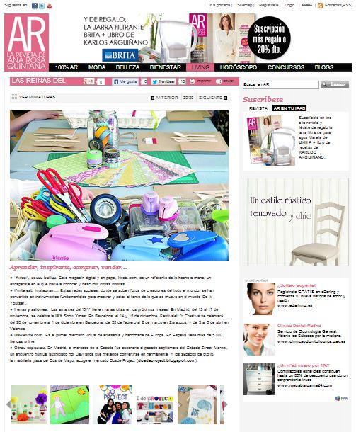AR, la revista de Ana Rosa Quintana