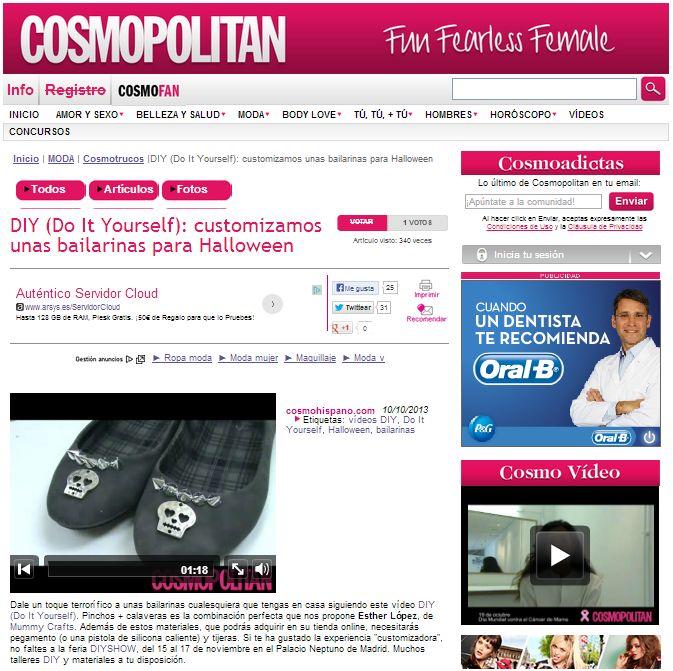 cosmopolitan, revista de moda, lifestyle, etc. 10-10-13