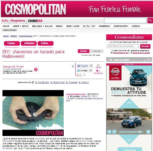 Cosmopolitan España, revista de moda, lifestyle y belleza 8-10-13