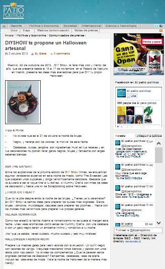 Patio político, portal de noticias 2-10-13