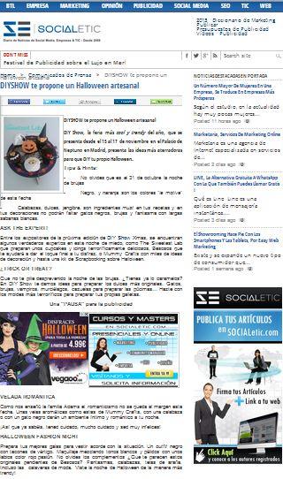 Socialetic, diario de noticias 3-10-13