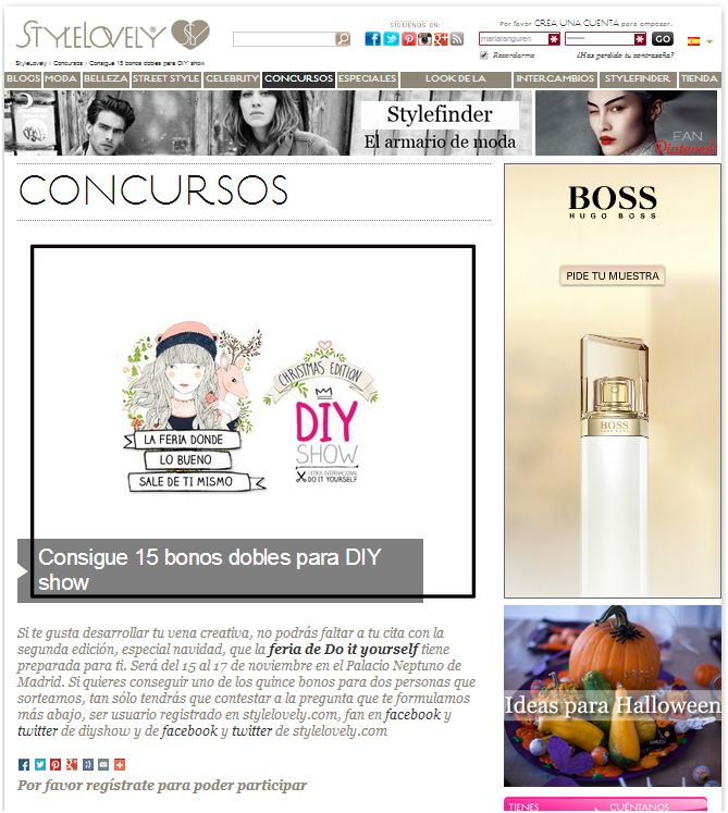Style Lovely, portal de moda y belleza (10-13)