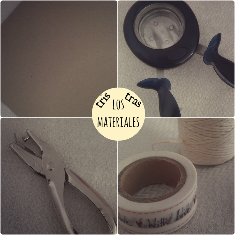 Materiales para hacer una tarjeta handmade