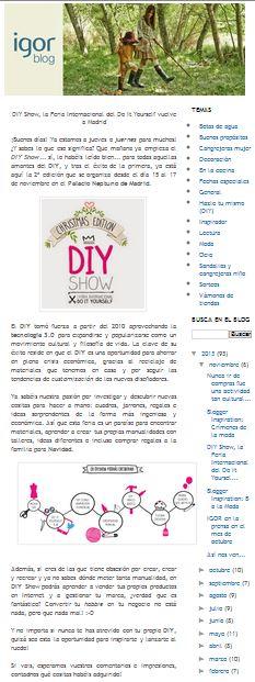 El blog de Igor, blog de moda y tendencias (14-11-13)