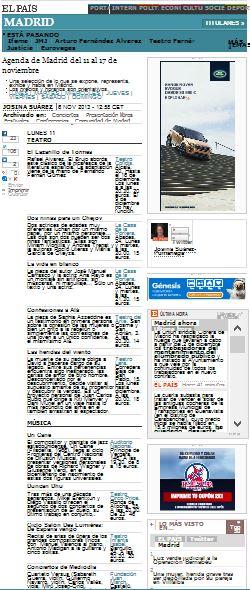 El País, comunidad de Madrid, periódico digital 6-11-13