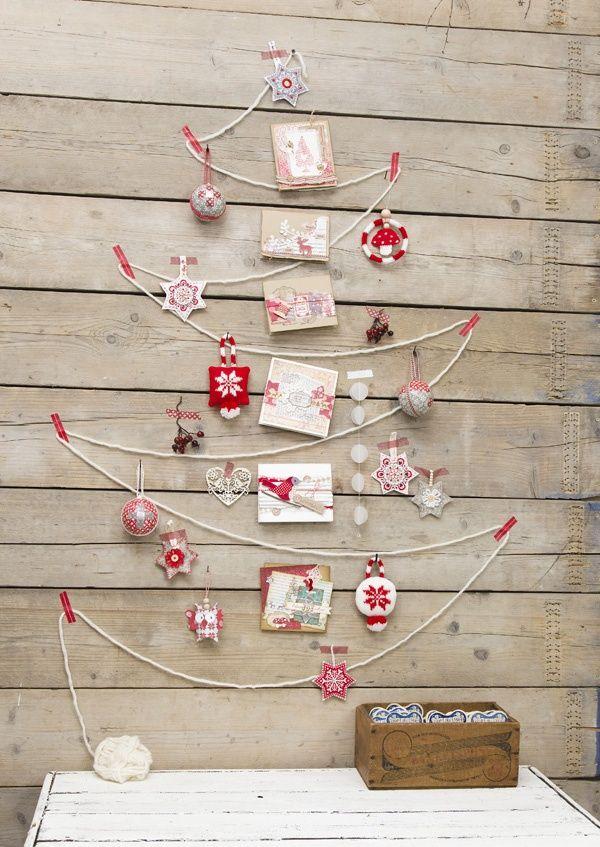 árbol navidad cuerda