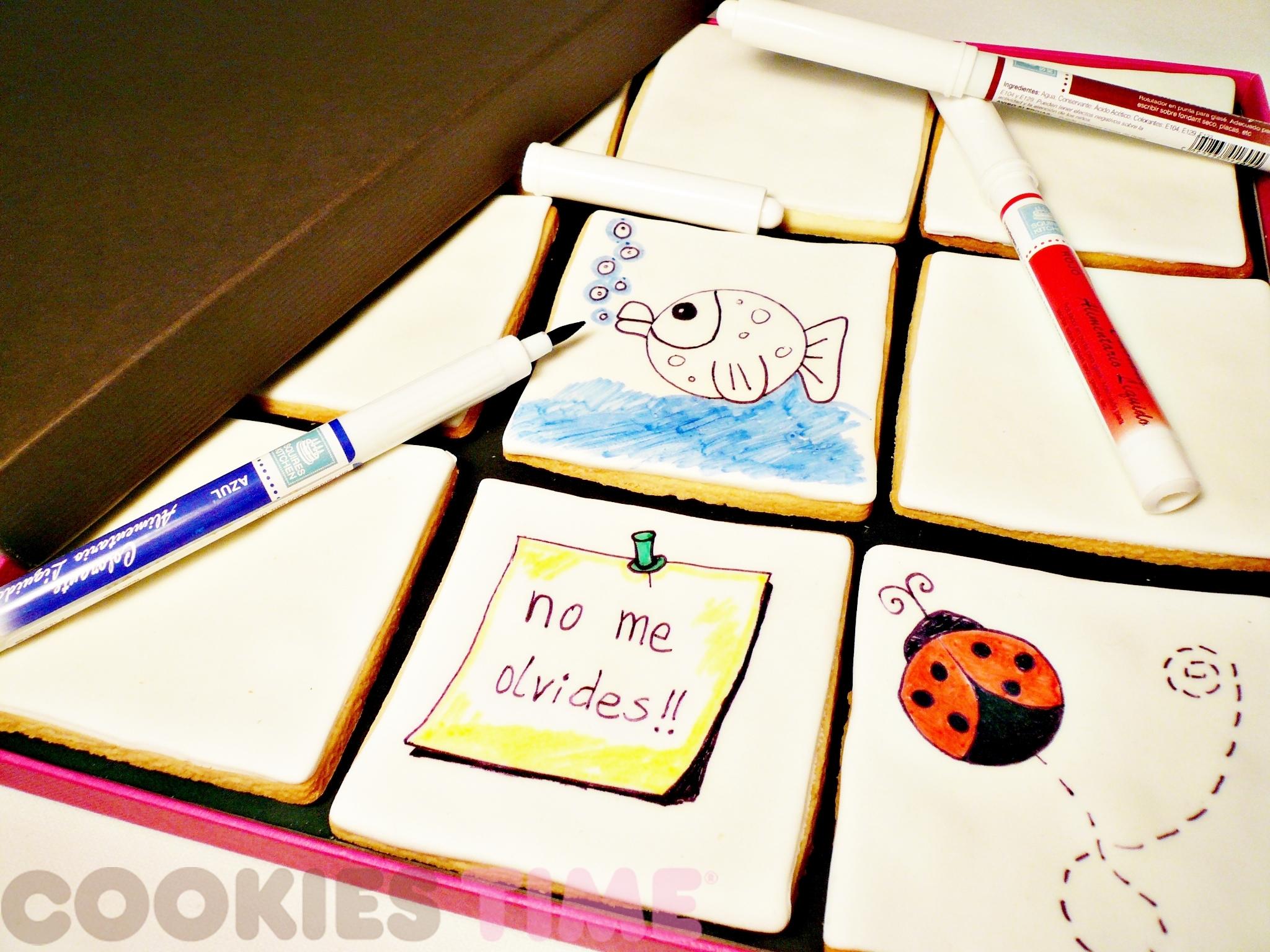 Galletas para pintar de Cookies time