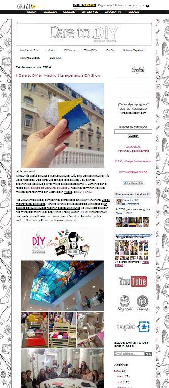 Dare to DIY, blog DIY (24-03-14)