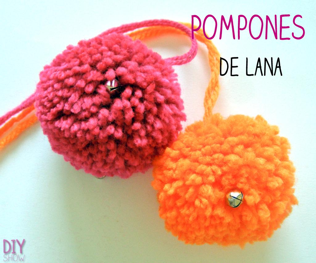 C mo hacer pompones de lana for Manualidades para ninos con lana