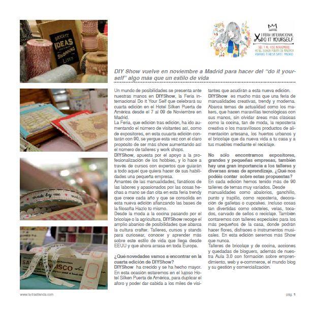 Nota de prensa Septiembre 2014