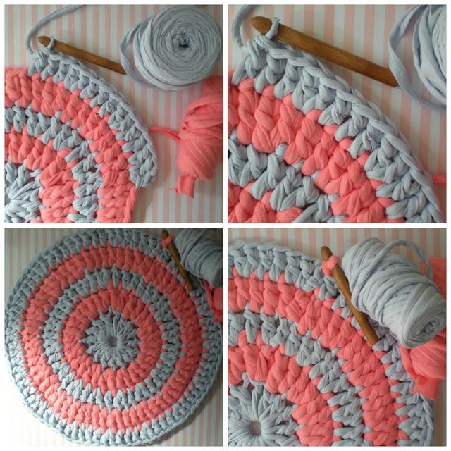 Idea creativa: Tutorial de alfombra de trapillo