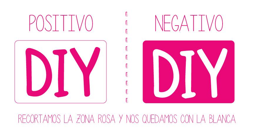 Logotipo positivo y negativo