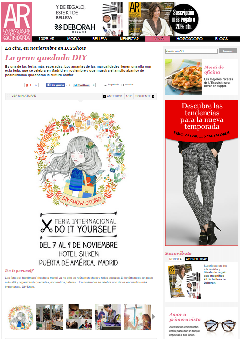 AR, la revista de Ana Rosa Quintana 09-2014
