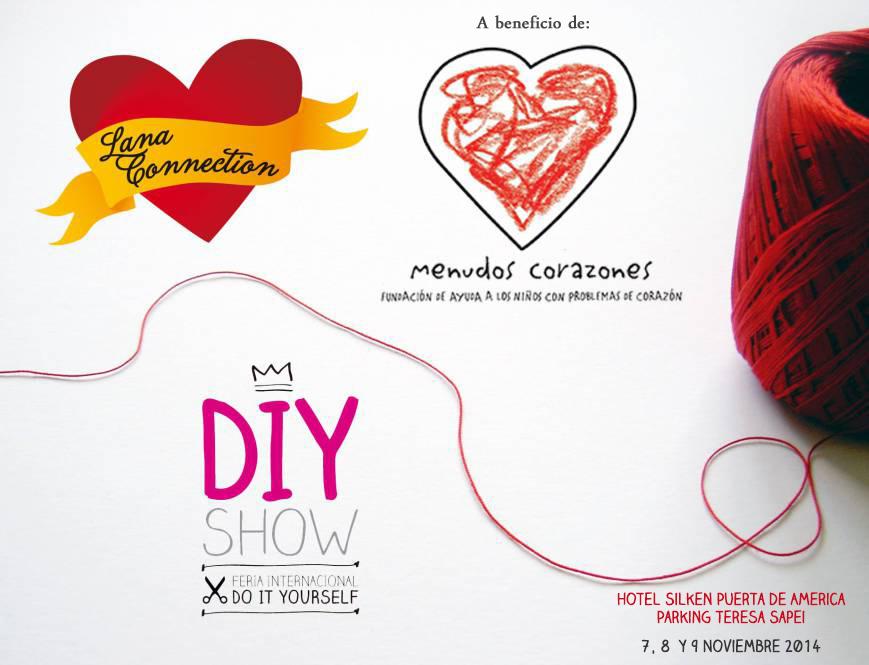 Acción solidaria en DIY Show Noviembre 2014