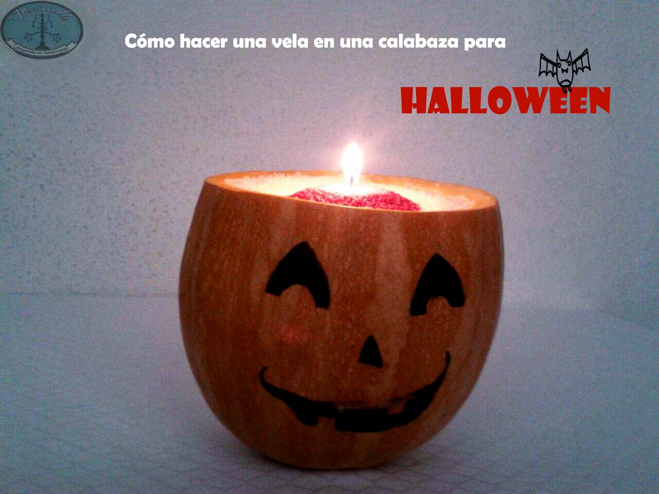Tutorial: Cómo hacer una vela en una calabaza para Halloween
