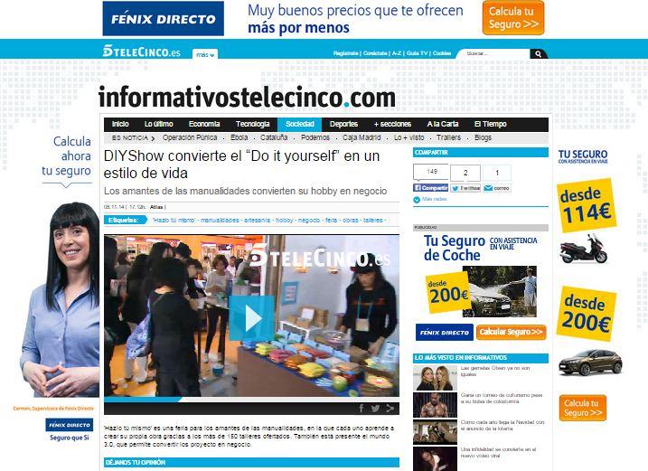 Informativos Telecinco (08/11/2014)