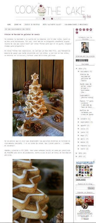 Cook the cake, blog de cocina (24-11-2014)