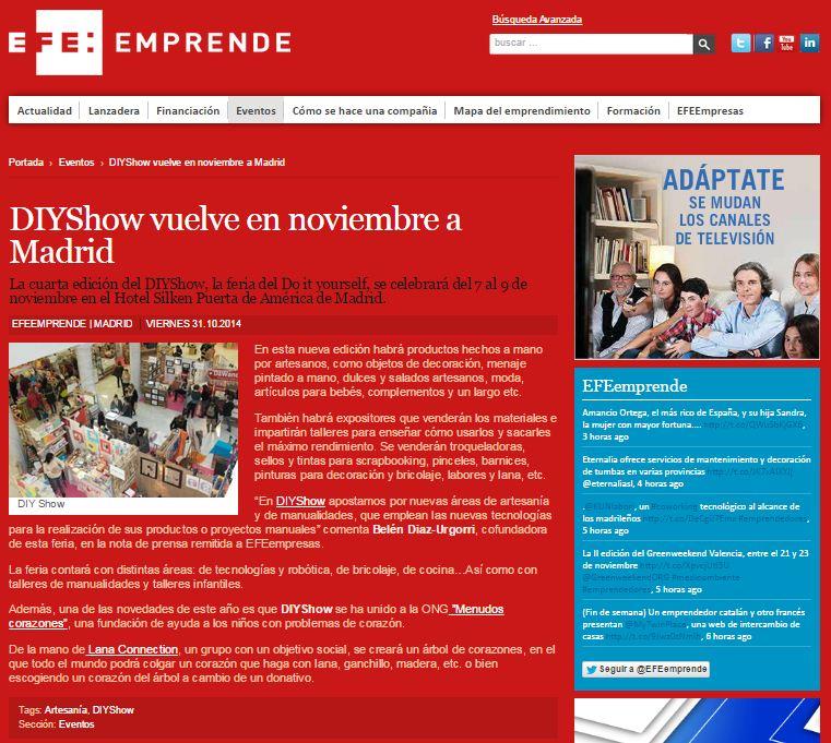 EFE Emprende  31-10-2014