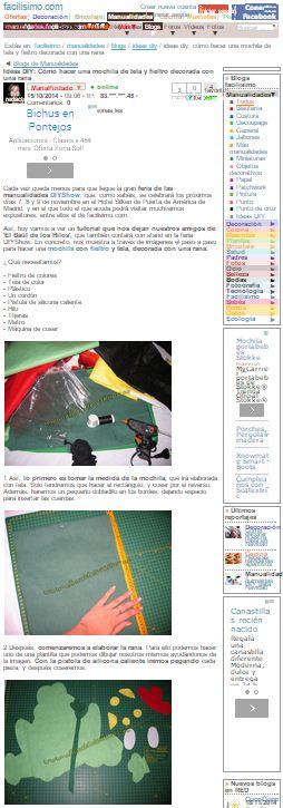 Facilisimo.com, tutorial Baúl de los Hilos (15-10-2014)