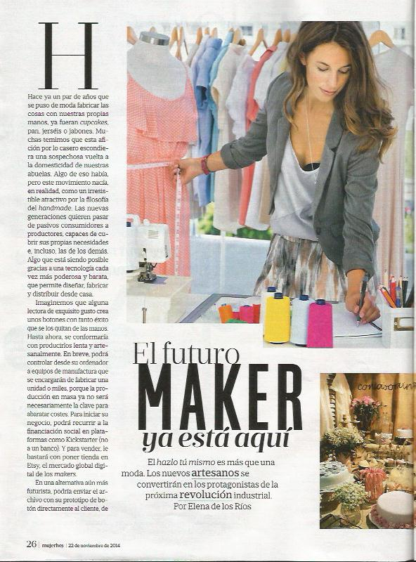 Mujer Hoy, revista sobre moda, belleza y tendencias (22/11/2014)